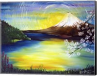 Japanese Mountain Fine Art Print