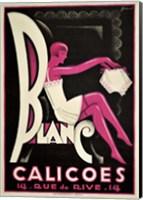 Blanc Calicoes Fine Art Print