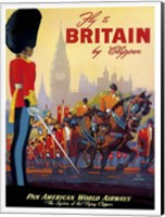 Fly to Britain by Clipper Fine Art Print