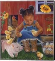 Barn Babies Fine Art Print