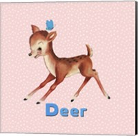 Cute Baby Deer Fine Art Print