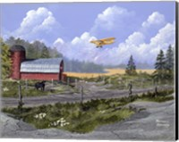Flying the Farm Fine Art Print