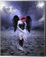 Sad Angel Fine Art Print