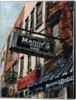 New York Neighborhood II Fine Art Print