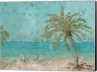 Beach Day Landscape I Fine Art Print