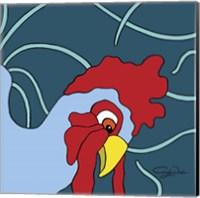 Curious Chicken Fine Art Print