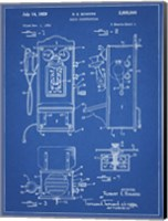 Blueprint Wall Phone Patent Fine Art Print
