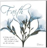 Faith Oleander Fine Art Print