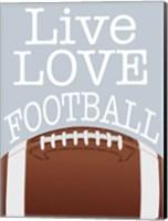 Football Love Fine Art Print