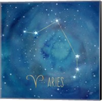Star Sign Aries Fine Art Print