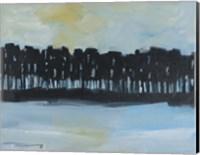 Early Winter Treeline Fine Art Print