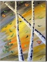 Monarchs and Trees Fine Art Print