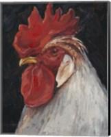 Rooster Portrait II Fine Art Print