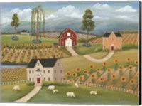 Valley Flower Farms Fine Art Print