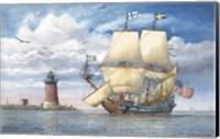 Kalmar Nycle Under Sail Fine Art Print