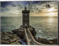 Lighthouse Sunset Fine Art Print