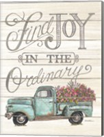 Find Joy in the Ordinary Fine Art Print