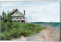 Beach Cottage Life Fine Art Print