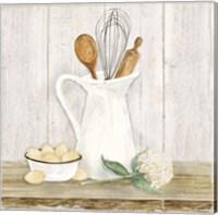 Vintage Kitchen II Fine Art Print