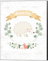 Sweet Little Hedgehog Fine Art Print