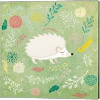 Woodland Hedgehog Fine Art Print