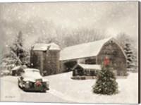 Farmhouse Christmas Fine Art Print