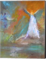 Angel Blessings Fine Art Print