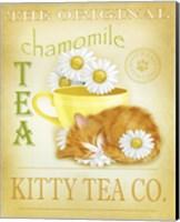 Chamomile Tea Cat Fine Art Print