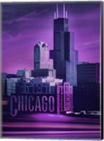 Violet Chicago Fine Art Print