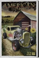 Hot Rod Sunflower Fine Art Print