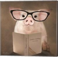 Creative Cooking Pig Fine Art Print