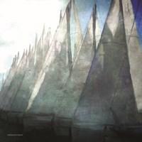 Sailboat Marina II Fine Art Print