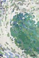 Teal Zeal Wave Fine Art Print