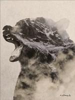 Bear Fog Fine Art Print