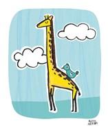 Wild About You Giraffe Fine Art Print