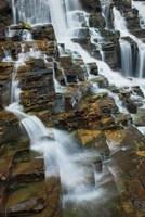 Falls on McDonald Creek color Fine Art Print