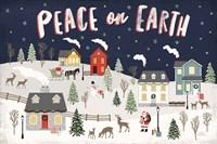 Christmas Village II Fine Art Print