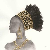 Headdress Beauty II Fine Art Print