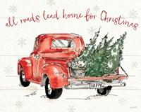 Modern Farmhouse IX Christmas Fine Art Print