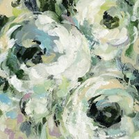 Sage and Lavender Peonies II Fine Art Print
