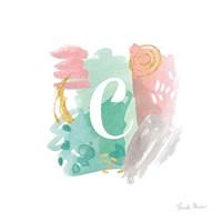 Abstract Monogram C Fine Art Print