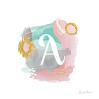 Abstract Monogram A Fine Art Print
