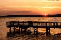 Lake Sunset Fine Art Print