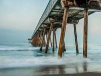 The Coastal Pier Fine Art Print