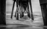 Surf in Black & White Fine Art Print