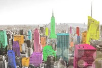 Color In The Cities Fine Art Print