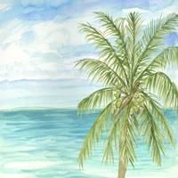 Refreshing Coastal Breeze II Fine Art Print