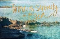 Serenity At The Sea Fine Art Print