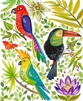 Into the Tropics II Fine Art Print