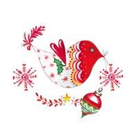 Christmas Dove II Fine Art Print